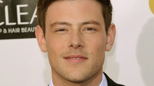 Cory Monteith pictured in January this year.