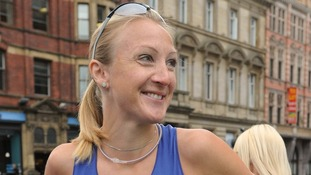 Marathon world record-holder Paula Radcliffe pictured at an event in July 2010.