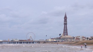 Blackpool enjoys the sun