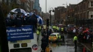 Royals parade