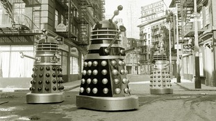 The classic Daleks will make their return, seen here in 1965.