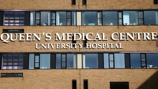 Queen's Medical Centre in Nottingham.