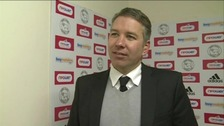 Peterborough United manager Darren Ferguson after Saturday's  1-1 draw with Derby