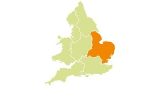 A flood alert has been issued for the Anglian region.
