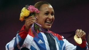 Jessica Ennis-Hill won heptathlon gold at London 2012