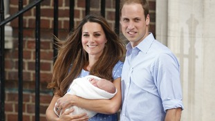 The world meets the Prince of Cambridge - whose name has not yet been announced.