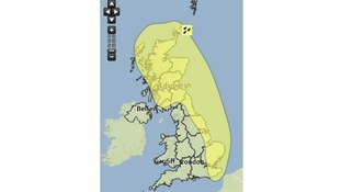 More thundery downpours expected.