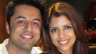 Shrien Dewani with his wife Anni