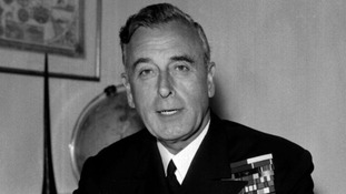 Lord Louis Mountbatten.