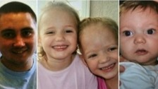 Reece, 19, Holly and Ella, four, and two-year-old Jordan all died in the blaze.