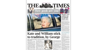 Papers laud Prince George after royal baby name revealed