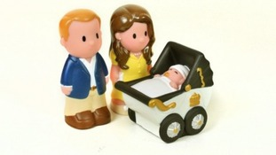 The Happyland Royal baby set.