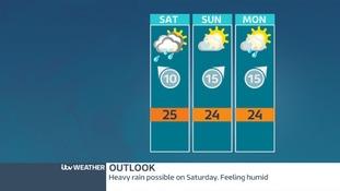 East Midlands weather outlook.