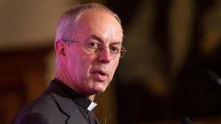 The Most Rev Justin Welby, the Archbishop of Canterbury.