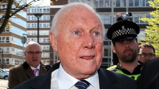 Disgraced broadcaster Stuart Hall