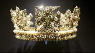 Queen Elizabeth II's Diamond Diadem.