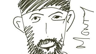 Monty Panesar by Nick Compton