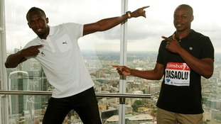 Usain Bolt and James Desaolu will be at the Sainsbury's Anniversary Games at the Olympic Stadium.