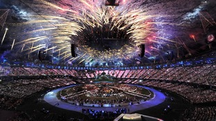 The Olympic Opening Ceremony.