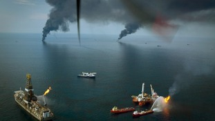 Halliburton was BP's cement contractor on the drilling rig that exploded in the Gulf of Mexico in 2010.