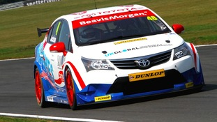 Norfolk driver Ollie Jackson has high hopes for Snetterton