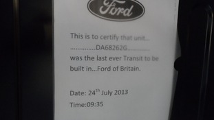 Ford factory sign