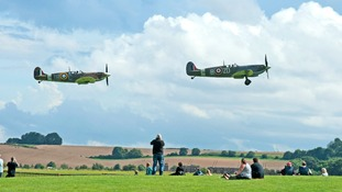 Duxford hosts Spitfires, Merlins and Motors