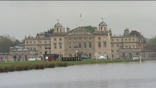 Badminton House during horse trials