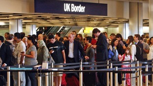 queues at immigration