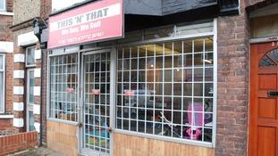 Police set up a shop to catch criminals selling stolen goods