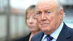 Library picture of the disgraced veteran broadcaster Stuart Hall.