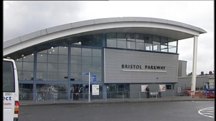 exterior of Bristol Parkway station