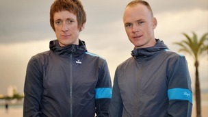 Team Sky riders Bradley Wiggins (left) and Chris Froome pictured together.