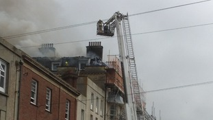 Fire in St Leonard's