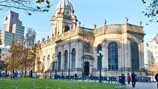 Birmingham's St Philip's Cathedrial in Colmore Row is among the popular spots to be shown to judges