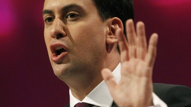Labour leader, Ed Miliband
