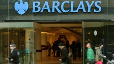 Barclays also announced its adjusted pre-tax profits fell by 17% over the first six months of 2013 to £3.59 billion.