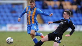 Shrewsbury Town flirted with relegation last season