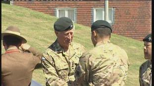 Prince Charles, Gurkha, Folkestone