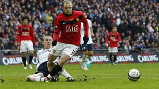 Wayne Rooney scored a spectacular winner at Old Trafford in last season's Manchester derby
