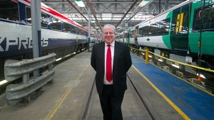 A new £180 million deal for Derby-based trainmaker Bombardier