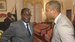 Robert Mugabe speaks to Rohit Kachroo.