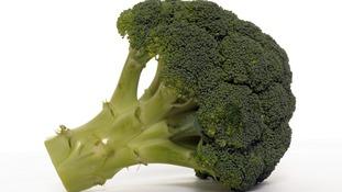 Broccoli floret