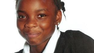 12-year-old Shania.