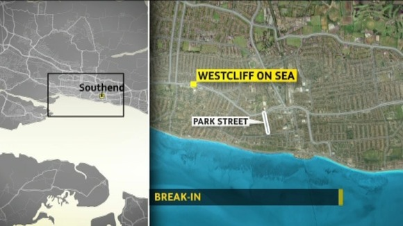 Burglary at a house at Westcliff-on-Sea in Essex