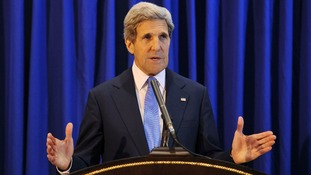 US Secretary of State John Kerry was scheduled to arrive in Pakistan on Sunday but delayed his visit.