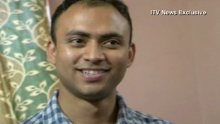 Footman Badar Azim has returned to Calcutta after his visa ran out.
