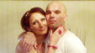 Magdelena Luczak and her partner Mariusz Krezolek.