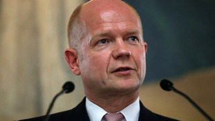 Foreign Secretary William Hague says Egypt's political parties need to communicate with each other.