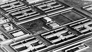 Undated file photo of the Maze Prison in Northern Ireland.